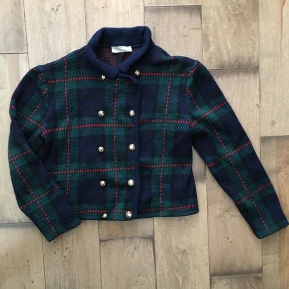amazing selection 100% genuine outlet boutique Vintage Aquascutum London Wool Tartan Sweater L